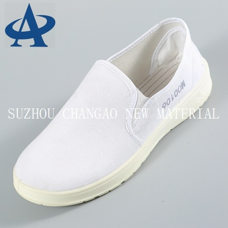 6598c4206582 China PU Anti-Static ESD Stripe Shoes Clean Room Canvas Safety Shoes ...