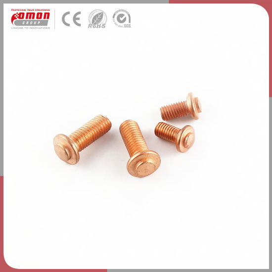 Copper Nuts And Bolts >> China Common Round Head Metal Moulding Nuts Anchor Bolts China