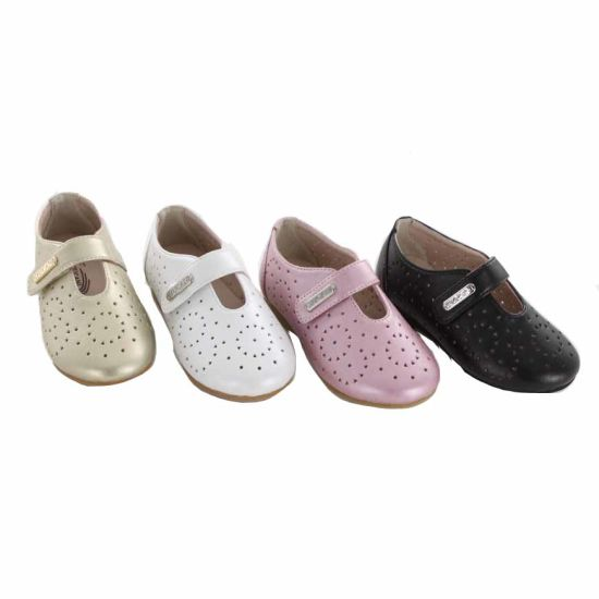 New Style Glossy Soft Kids Formal PU Children Dress Shoes