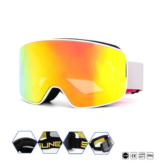 3e54300cc0d3 Premium UV 400 Protective Ski Glasses Anti Fog Snowboard Goggles Best  Selling New Design Snow Ski