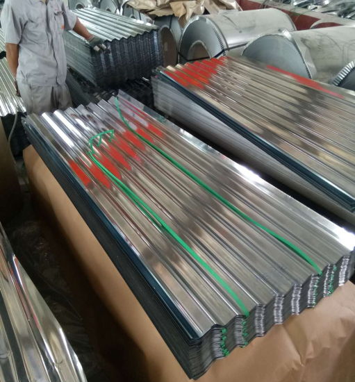 Galvalume Corrugated Roofing Sheet/Galvanised Metal Tin Roof Sheets