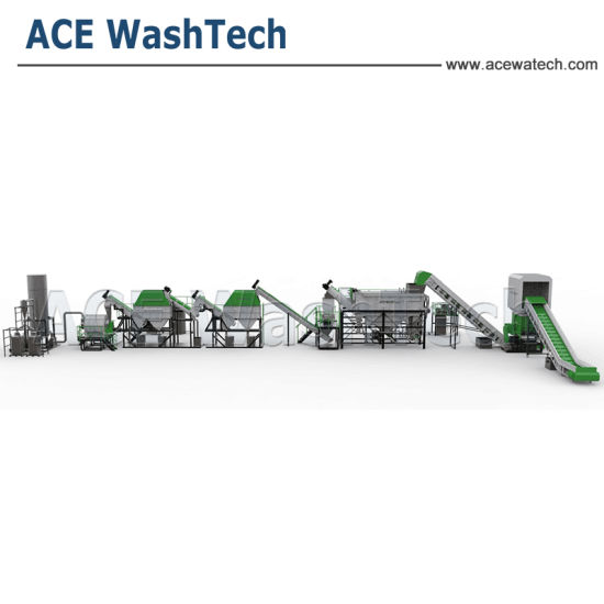 Efficient Dewatering Machine for PP PE HDPE LDPE Plastic Recycling Washing Line