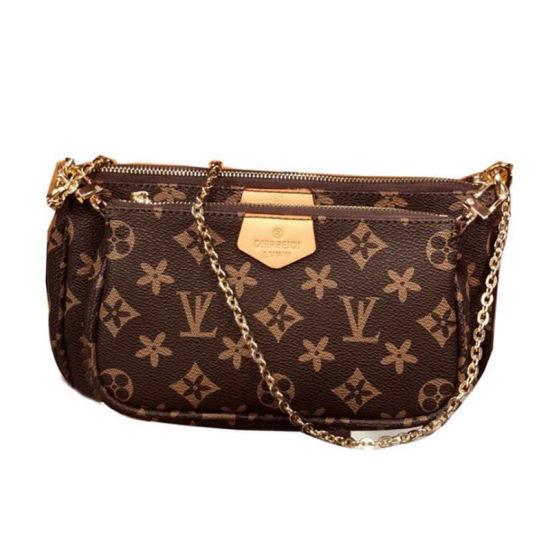 Popular 3 in 1 Bag and Purse Ladies Luxury Designer Handbag Famous Brands Crossbody Handbags Women Bags