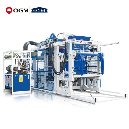 Germany Full Automatic Hydraulic/Hollow Solid/Concrete Cement/Brick Block/Making Machine Construction Manufacturer