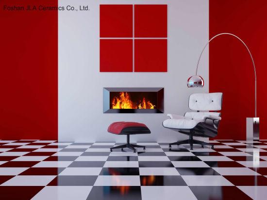 8x8inch 20x20cm White Porcelain Tile Floor Non Slip Ceramic