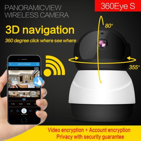 360eyes 1080P HD Snowman Wireless WiFi Network Surveillance Camera