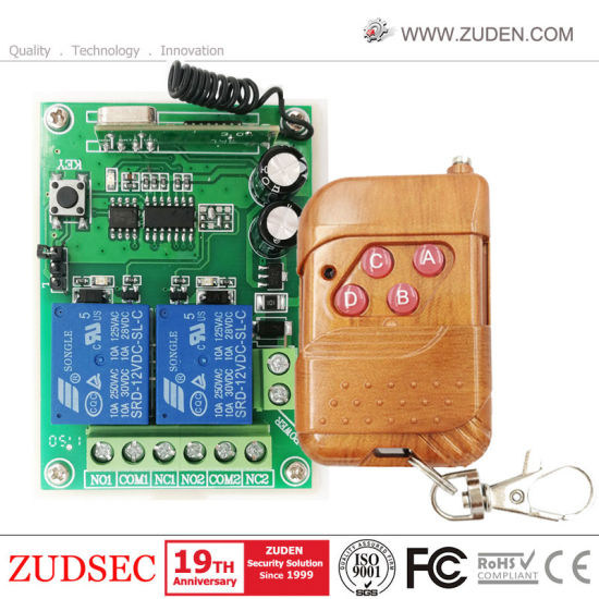 DC12V Wireless RF Remote Control Transmitter and Receiver