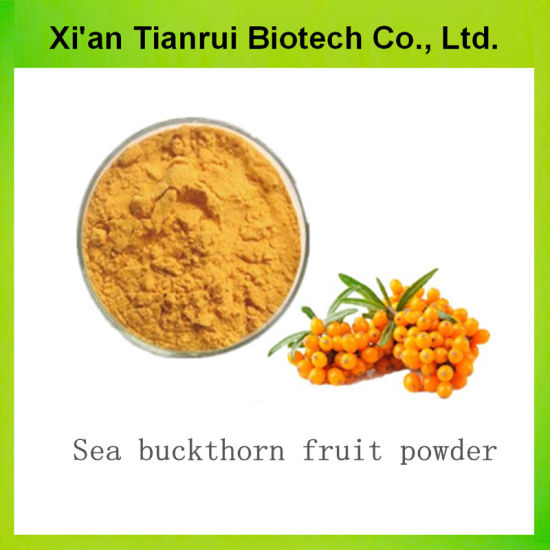 100% Natural High Quality Organic Sea Buckthorn Juice Powder pictures & photos