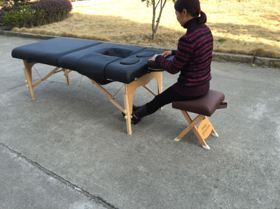 Pw-002 Portable Massage Bed Massage Table for Prenatal and Postpartum Women pictures & photos