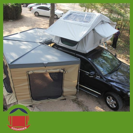 Large 4WD Car Roof Top Tent with Annex Canvas & China Large 4WD Car Roof Top Tent with Annex Canvas - China Roof ...