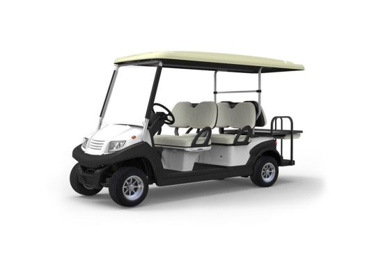 Electric Golf Cart, 6 Seats, Eg204aksz, Aluminum Chassis, CE Approved, Brand New