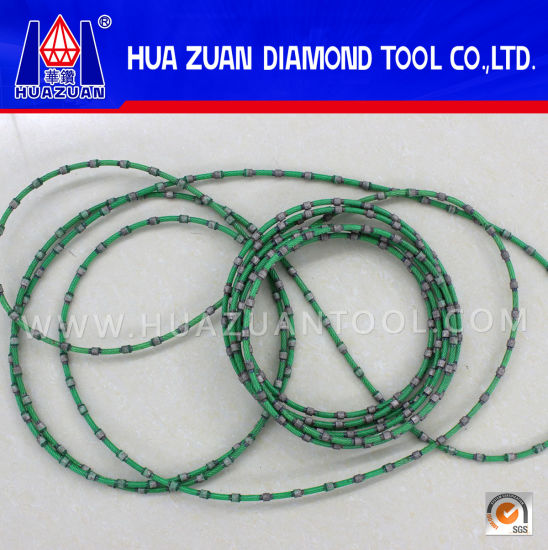 China Wire Rope Manufacturers Selling Diamond Wire Saw for Granite ...