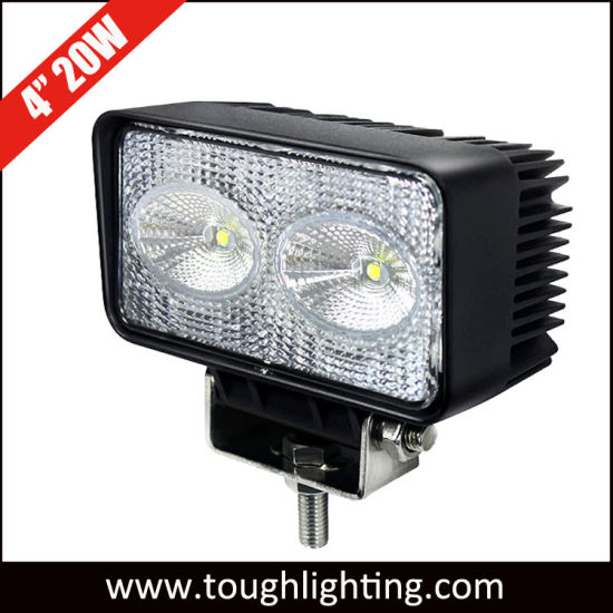 High 4 Inch Rectangle 20w Cree Led Tractor Work Lights
