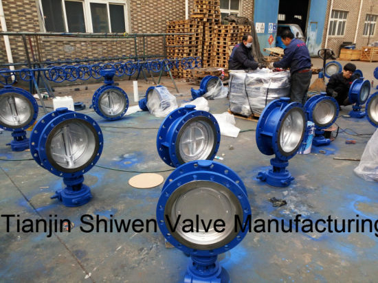 Hard/Metal Seal Triple Eccentric/Offset Butterfly Valve with Gear pictures & photos