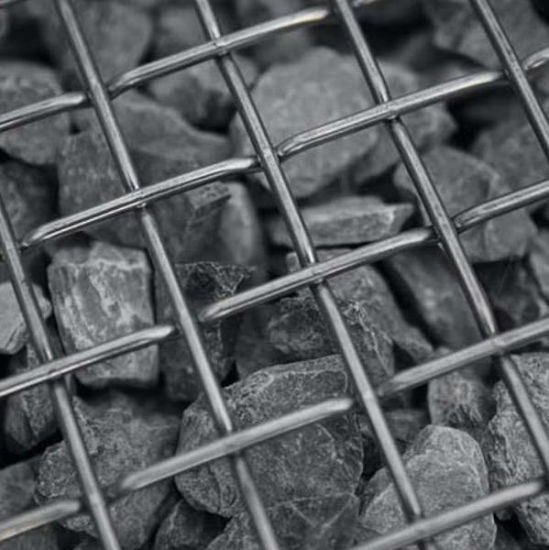 Woven Wire Vibrating Screen/Carbon Steel Quarry Crimped Screen Mesh for Stone Crusher Screen