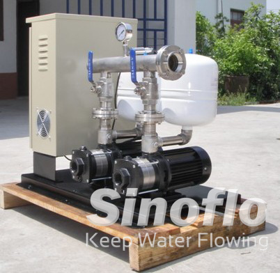 Horizontal Centrifugal Stainless Steel Intelligent Variable Frequency booster Pump/VFD pictures & photos