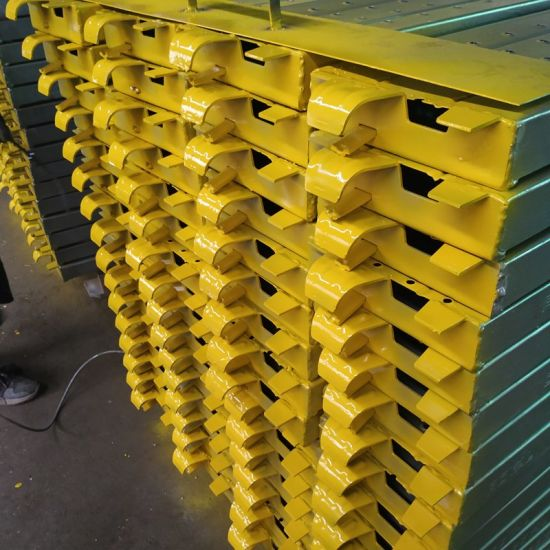 Safety Cuplock Scaffolding System Platform Metal Plank and Toe Board