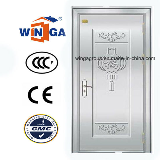 High Quality Stainless Steel Security Door (W-GH-02) pictures & photos