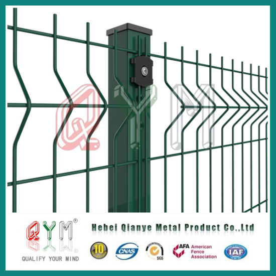 China 3D Wire Mesh Fence/Triangle Curved Welded Wire Mesh Panel ...