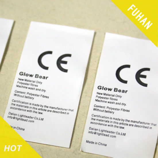 Customized Quick-Drying PP Material Wash Care Label