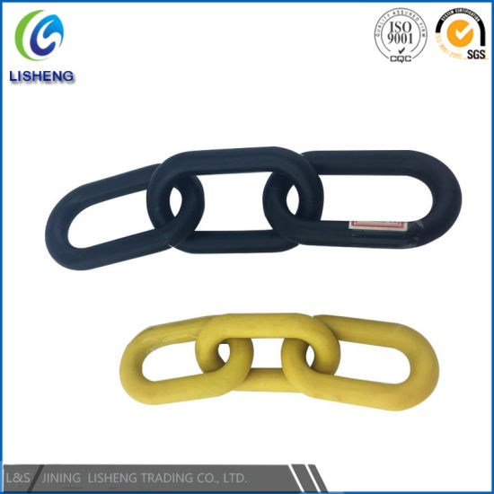 Colord Plastic Coated Steel Link Chain for Protection pictures & photos