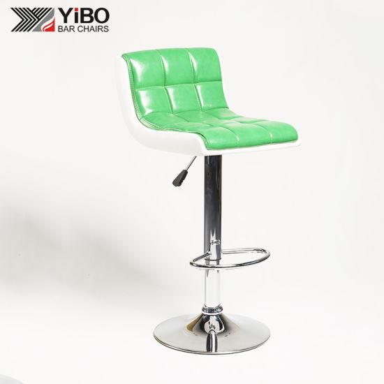 Strange China Popular Modern Pu Material Metal Base Height Evergreenethics Interior Chair Design Evergreenethicsorg