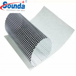 New Advertising Materials One Way Vision Window Film Perforated Film for Decoration