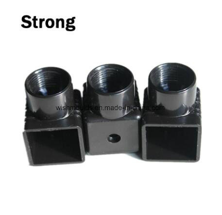 OEM Customized HDPE Plastic Connected Parts Made by Injection Molding