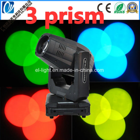300W LED Moving Head Light with Zooming Function and Wash Spot Beam 3in1 (EL-NLBSW300W)