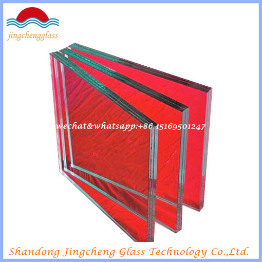 6.38mm/8.38mm/10.38mm/12.38mm Safety Clear and Colored Laminated Glass