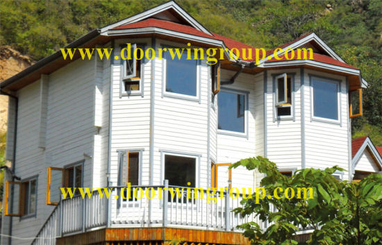 Aluminum-Wood Casement Window for America Wooden House