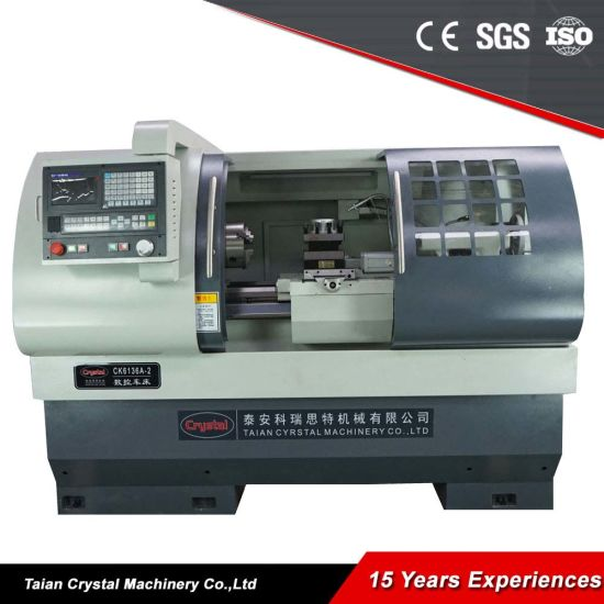 China Manufacturer CNC Metal Lathe Machine Ck6136 pictures & photos
