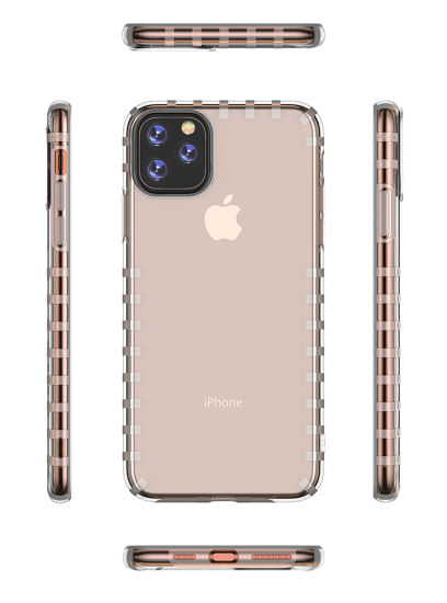 for iPhone Xi 2019 Transparent TPU Case Mobile Phone Case Cell Phone Cover pictures & photos