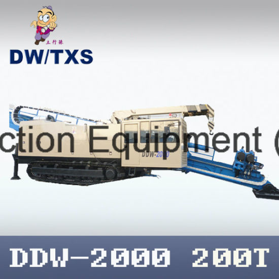 Maxi Horizontal Directional Drilling Rig (DDW-2000) for Pipelaying HDD Machine