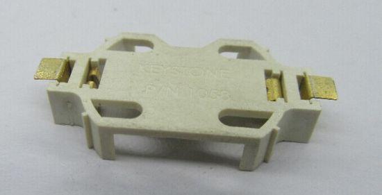 2032 Battery Holder SMT Version Gold Plated, Bt-M-G0-Cr1058f