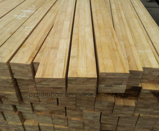 Laminated Bamboo Lumbers of Vertical and Horizontal Bamboo Timber pictures & photos