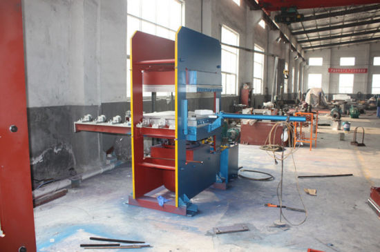 Column or Frame Type Rubber Hydraulic Vulcanizer Press Machine pictures & photos