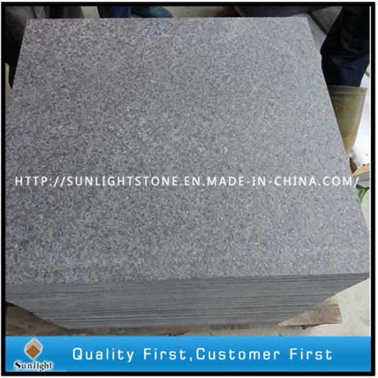 China Natural Cheaper Blackwhitegrey Stone Granite Outdoor Floor
