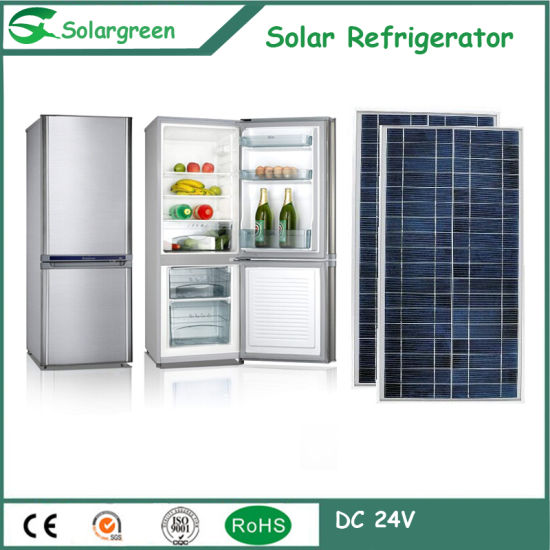 142L Factory Price 12/24V DC Compressor Solar Freezer Fridge Refrigerator pictures & photos