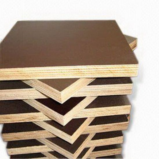 China Plywood Brown Film Poplar Core for Constructions pictures & photos