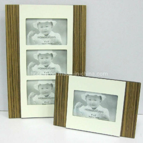MDF Veneer Frame for Wall Handing and Desktop pictures & photos