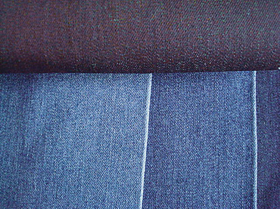 Cotton Blenched Stretch Denim Fabric pictures & photos