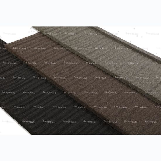 China Africa Market Lightweight Stone Coated Steel Roofing Sheet