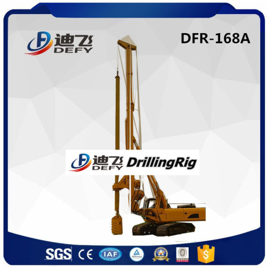 Dfr-168A Urban Construction Used Hydraulic Rotary Pile Driver Drill Rig pictures & photos