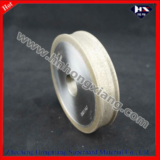 Glass Edging Diamond Wheels / Trapezoidal Edge Wheel for CNC Machine pictures & photos