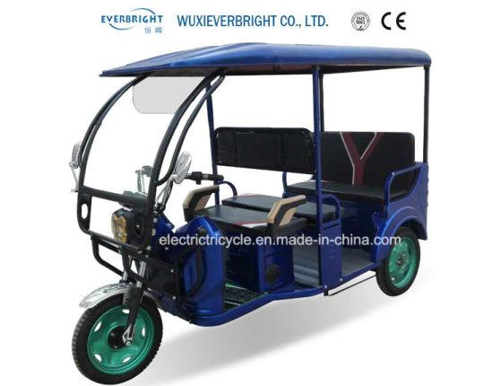 New Hot Sale Auto 3 Wheel Electric Rickshaw for Passenger
