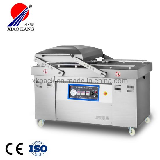 Dz700 Double Chamber Automatic Vacuum Packing Machine for Fish