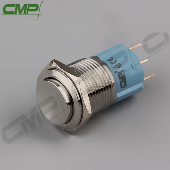 CMP Waterproof 16mm 1no1nc Spdt New Momentary Button Switch