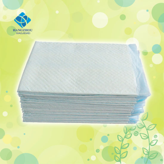 OEM Absorbent Disposable Cottom Wood Pulp 60*40cm Baby Urine Pad pictures & photos