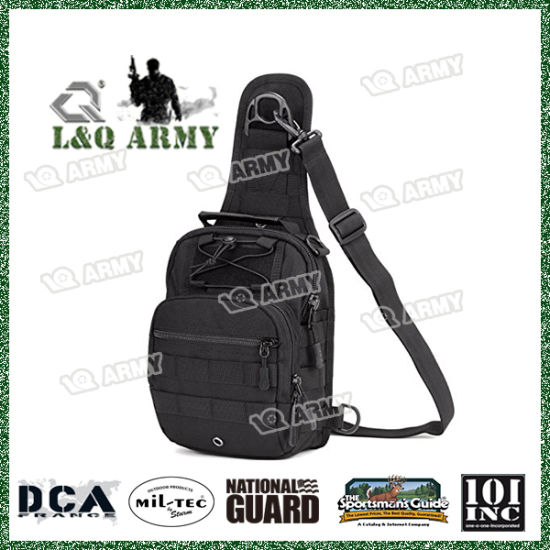 Solid Color Outdoor Tactical Hiking Bag Military Army Shoudler Bag Water Molle Camping Bags Chest Body Sling Single Shoulder Bag Camping & Hiking